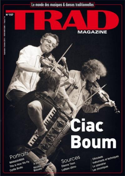 Artikkel i TRAD Magazine om Øystein